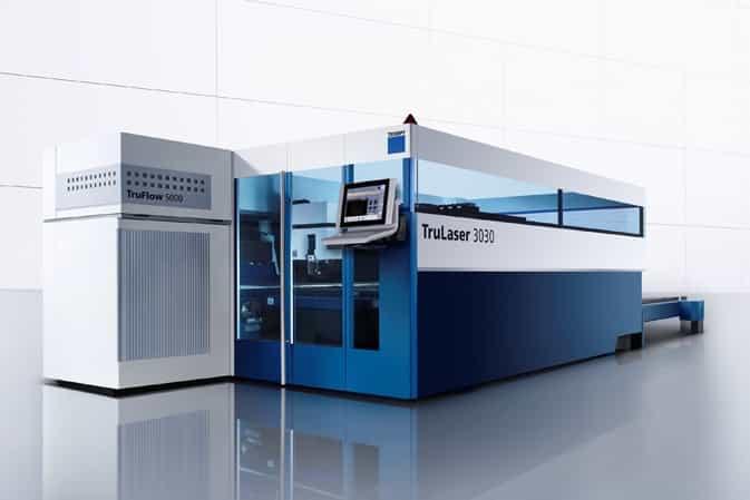 Triumpf TruLaser 3030, laserové řezání kovů, laserové pálení