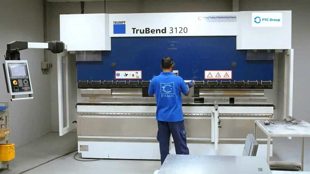 TruBend 3120 CNC Ohýbání