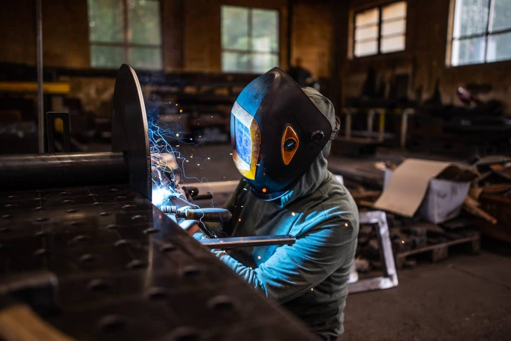 Welding produciton, Production of weldments, cut shapes; Metalworking